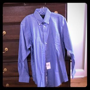 NWT Nordstrom men's dress shirt. 15.5 x 35.